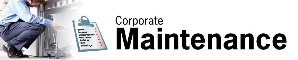 Computer Maintenance Logo And Computer Maintenance