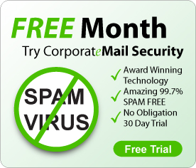 Free month, try CorporateMail Security  free